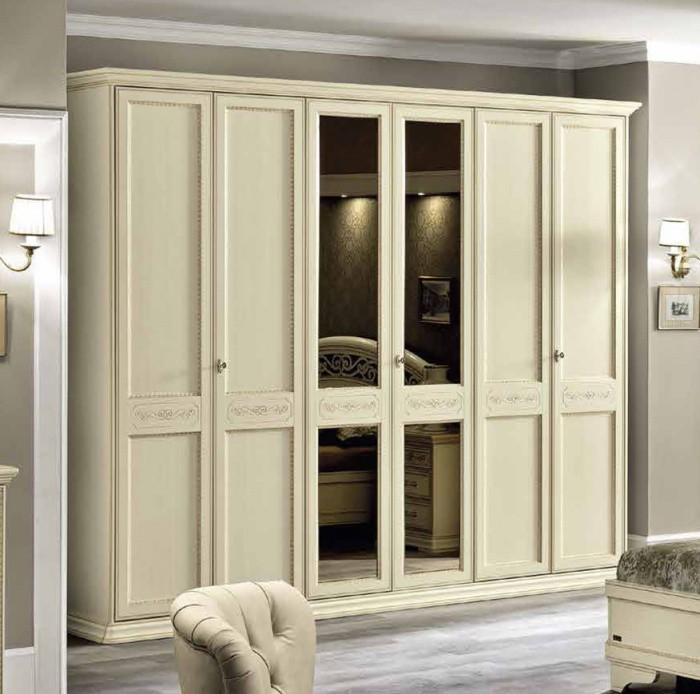 Шкаф 6 дверей (без зеркал), арт. 128ar6.01av отзывы.
