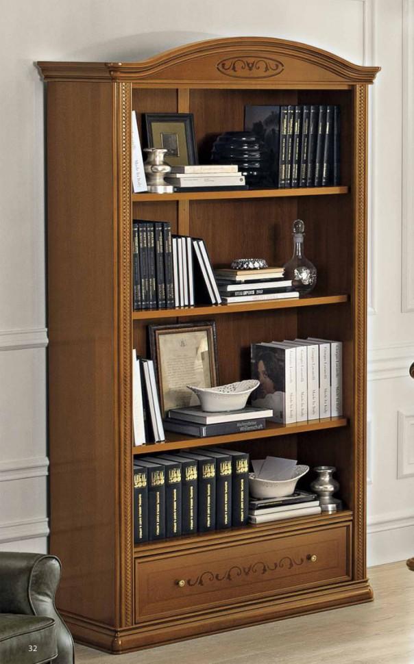 Шкаф книжный с ящиком,без дверей купить в интернет-магазине .